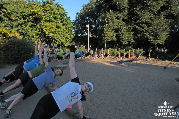 Bootcamp Hamburg Dockfit Outdoor Training Altona Team