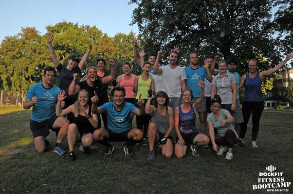 Bootcamp Hamburg Dockfit Outdoor Training Altona Gruppe