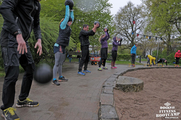 dockfit altona fitness Personal-Trainer bootcamp hamburg training fitnessexperten hamburg dockland battle ropes outdoor training Burpees overhead  2017 abnehmen Gewichtsreduktion outdoor regen
