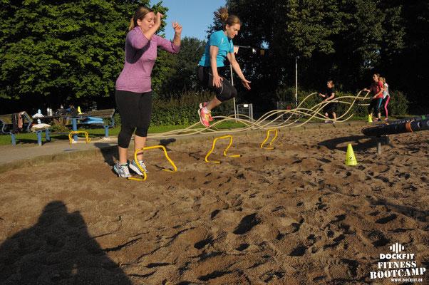 "dockfit altona fitness Personal-Trainer bootcamp hamburg training fitnessexperten hamburg dockland battle ropes outdoor training sat1 ""neue 8 Wochen"""