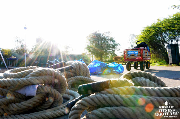 dockfit altona fitness Personal-Trainer bootcamp hamburg training fitnessexperten hamburg dockland battle ropes outdoor training Burpees overhead  2017 abnehmen Gewichtsreduktion Sonne