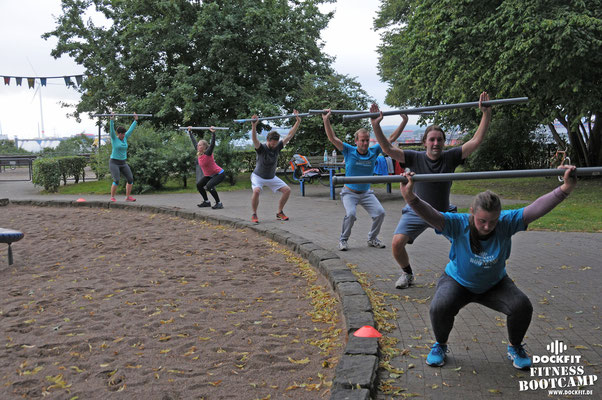 Bootcamp Hamburg Dockfit Outdoor Training Laufen