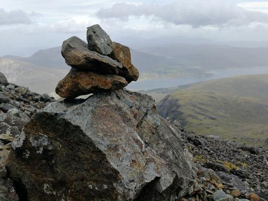 Eines der sehr, sehr seltenen Steinmännchen