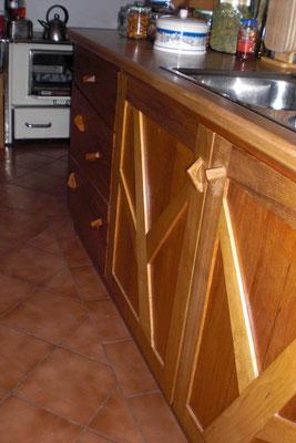 Küche. Individuelles Design, hier unsere Küchenzeile in Sellanger.
