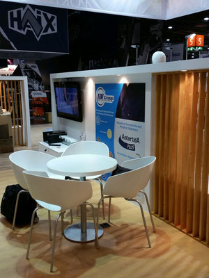 Le stand HR GROUP