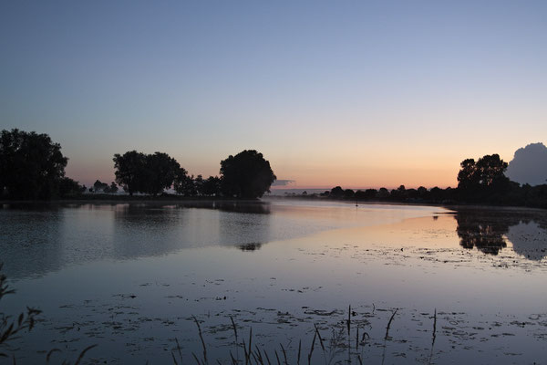 Sonnenaufgang an der Eider 0034