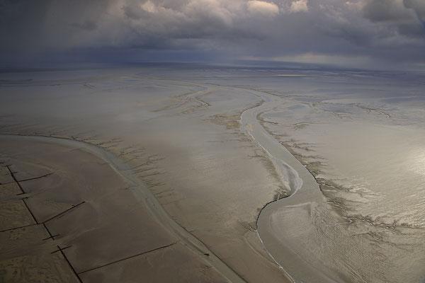Wattenmeer bei Ebbe vor Buesum 1053