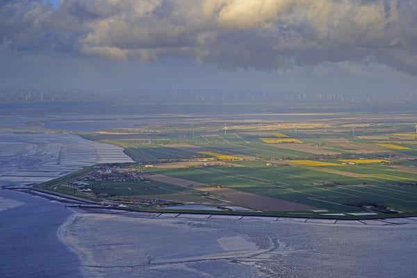 Wattenmeer bei Ebbe vor Nordstrand 1272