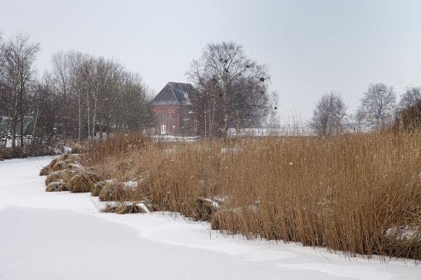 Steinschleuse Alte Sorge im Winter 0015