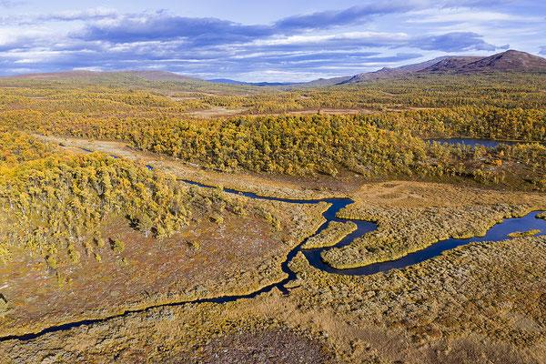 Herbstlandschaft Flatruet 0716