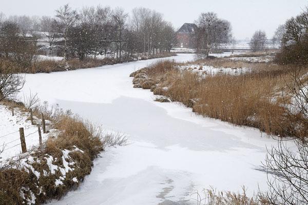 Steinschleuse Alte Sorge im Winter 0014