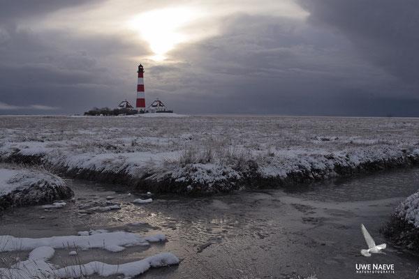 Leuchturm Westerhever Deutschland,Lighthouse Westerhever Germany 0009