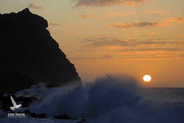 Sonnenuntergang bei Puerto de la Cruz 7000