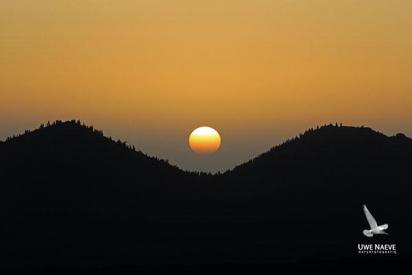 Sonnenuntergang am Teide1895