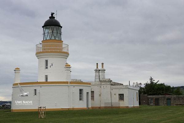 Leuchtturm Chanonry Point im Moray Firth bei Invernes Lighthouse Chanonry Point im Moray Firth Invernes 5354