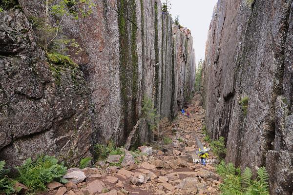 Slattdalsskrevanschlucht,Skuleskogen Nationalpark 6845