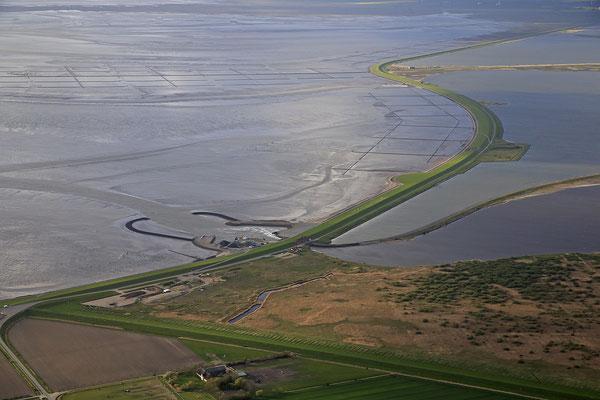 Wattenmeer bei Ebbe vor Nordstrand 1229