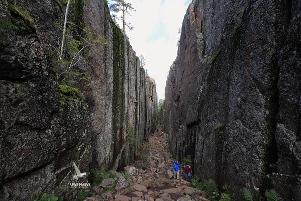 Slattdalsskrevanschlucht,Skuleskogen Nationalpark 6868