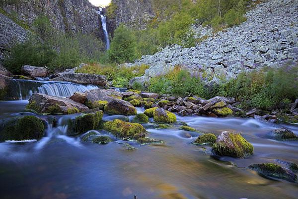 Njupeskär Wasserfall 5067