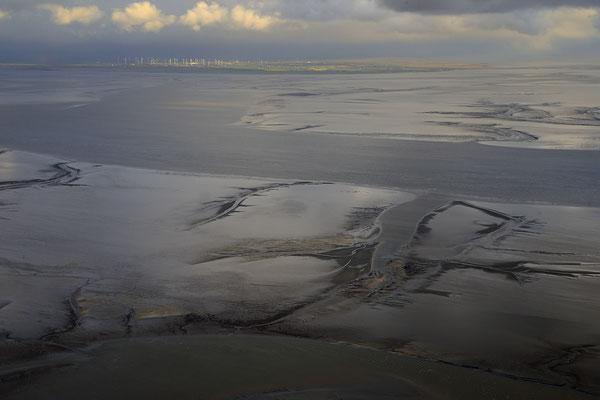 Wattenmeer bei Ebbe 1601