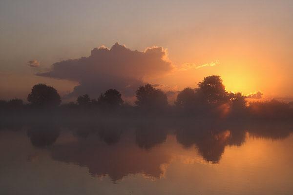Sonnenaufgang an der Eider 0037