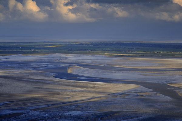Wattenmeer bei Ebbe vor Sant Peter Ording 1187