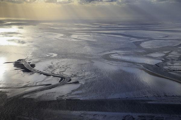 Wattenmeer bei Ebbe 1249