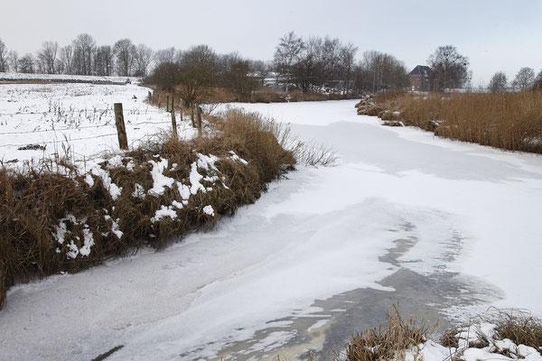Steinschleuse Alte Sorge im Winter 0016