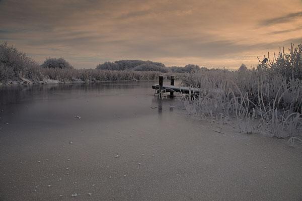 Winter an der Alten Sorge bei Fuenfmuehlen 0128