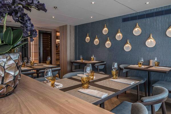 Spezialitäten Restaurant an Bord der MS Annika