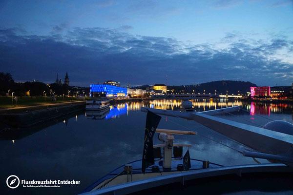 Auslaufen aus Linz