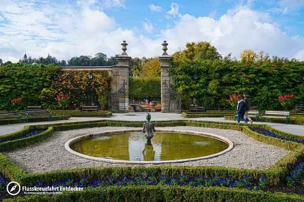 Mirabell-Garten in Salzburg