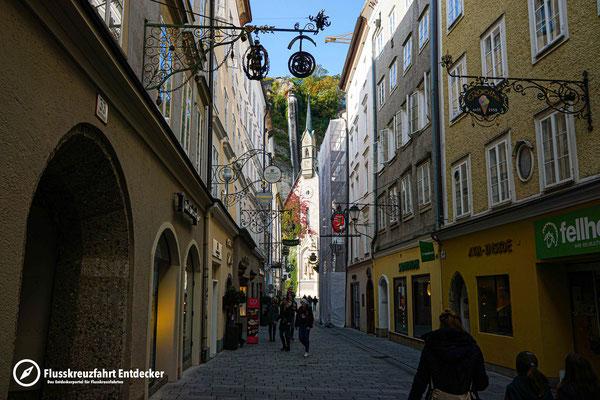 Die schicken Einkaufsstraßen Salzburgs