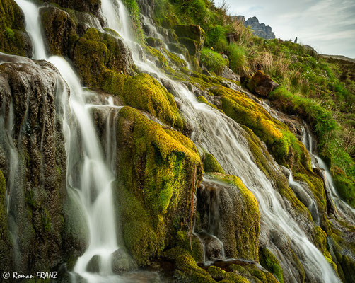 Wasserfall auf Skye