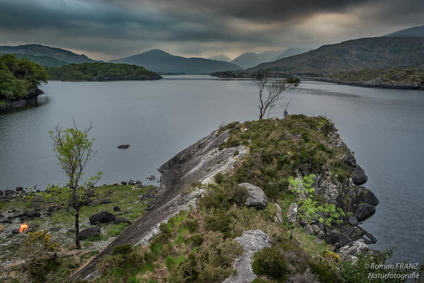 Abendstimmung im Killarney Nationalpark in Irland