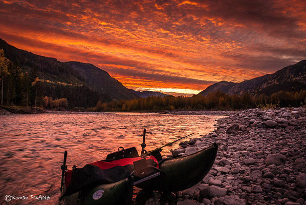 sunrise, Zymoetz River-Copper River BC
