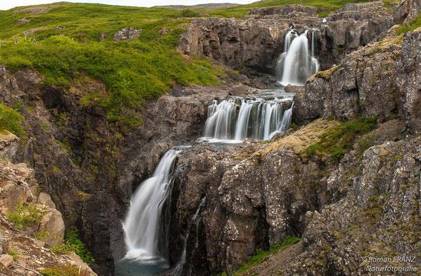 Wasserfälle in Island