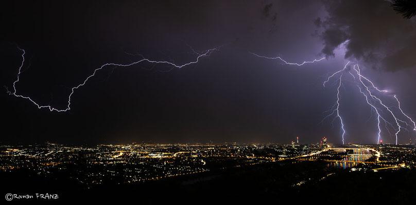 Gewitterstimmung über Wien