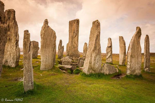 Callanish Standing Stones,Insel Lewis, Äussere Hebriden Schottland