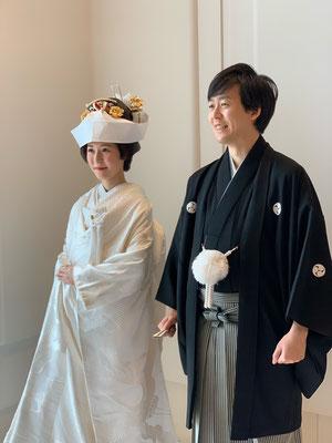 和装挙式@日枝神社・アンダーズ東京