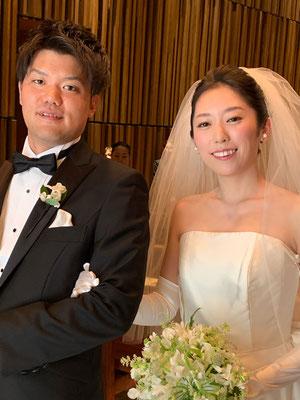 ホテル挙式@グランドハイアット東京