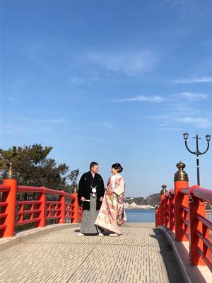 和装挙式@森戸神社