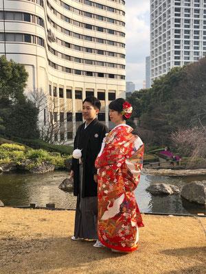 ホテル挙式@日枝神社、ホテルニューオータニ