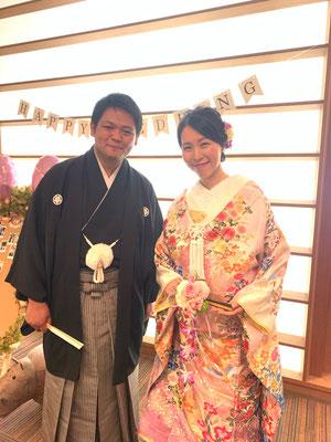 和装挙式@高崎神社・ホワイトイン高崎
