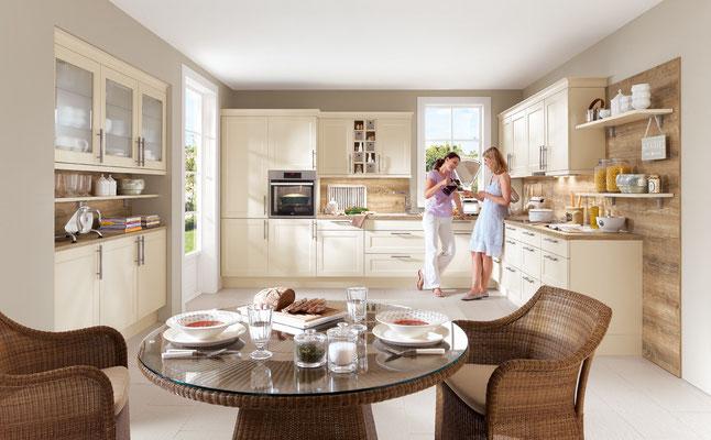 Unsere Küchenplanung macht aus jeder Landhausküche etwas besonderes.