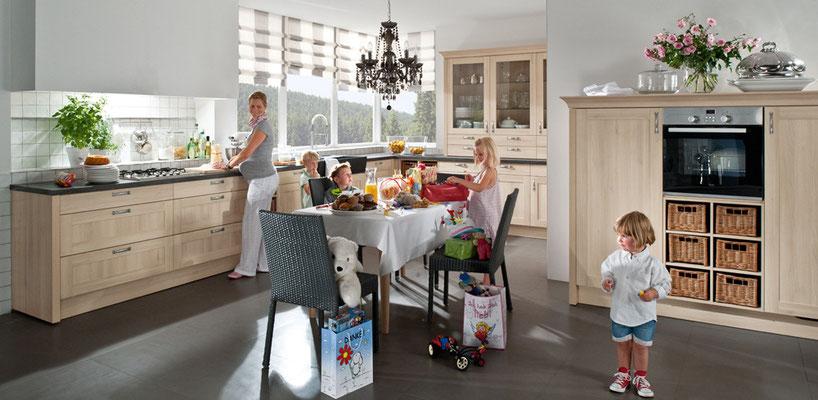 Küchen, die der ganzen Familie Spaß machen.