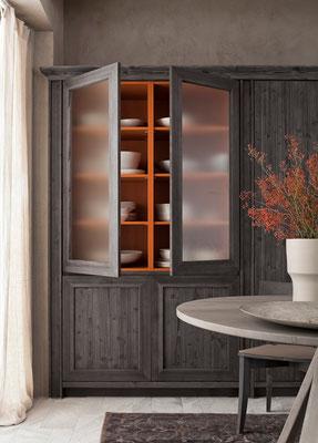 Glastüren für Küchenschränke