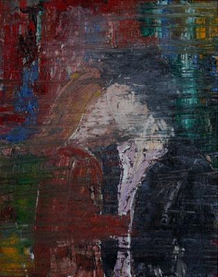 2006 Paar-rot 40x50 Öl