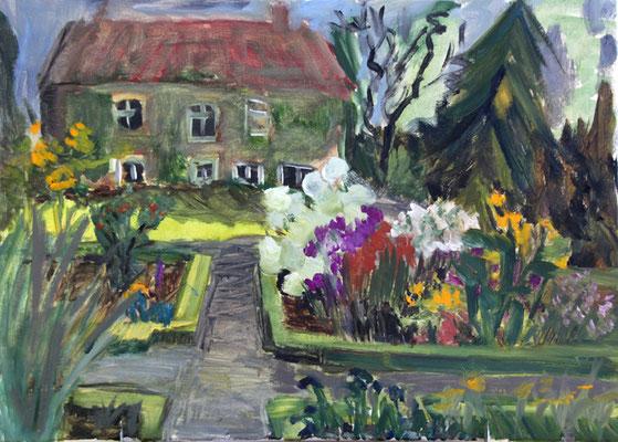 2014  Susannes Garten 50x70 Öl