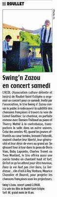 La Charente Libre du 14 avril 2016